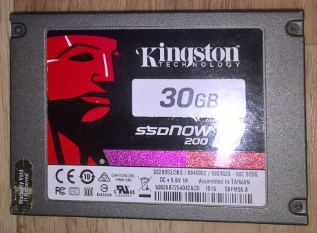 SSD Kingston 30 Gb